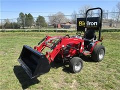 2016 Mahindra EXS224FHTL EMAX 22NH MFWA Compact Utility Tractor W/Loader