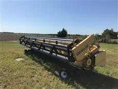 1997 New Holland 971 Rigid Header & Trailer