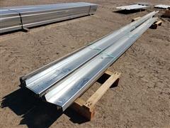 """Behlen Galvanized 8"""" Steel Purlin"""