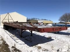 1979 Hobbs FB EP 42 T/A Flatbed Trailer