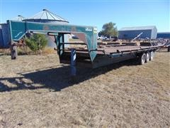 1980 Blair Flatbed Trailer
