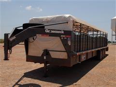 2013 Gooseneck B8B1 Livestock Trailer