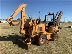2010 Astec RT660II 4x4x4 Trencher/Backhoe/Blade