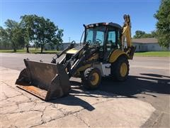 2008 New Holland B95BTC 4x4 Loader Backhoe