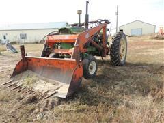 John Deere 3010 2WD Tractor W/Du-Al Loader
