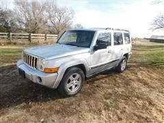2007 Jeep Commander Sport Utility Vehicle