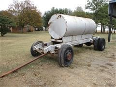 Homemade Fuel Trailer