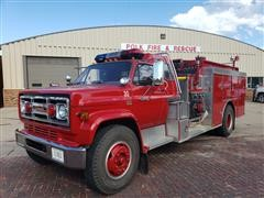 1989 GMC 7000 Fire Truck