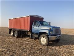 1993 GMC TopKick C7500 T/A Grain Truck