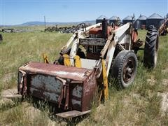 International 350 2WD Tractor W/Great Bend Loader