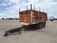 Shop Built T/A Dump Trailer