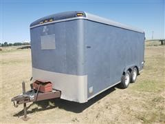 1995 Pace American T/A Enclosed Trailer
