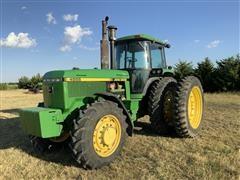 1991 John Deere 4555 MFWD Tractor