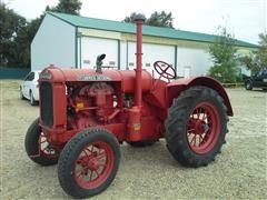 1937 McCormick Deering W-30 Tractor
