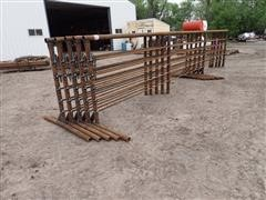 D&S 24' Freestanding Livestock Panels