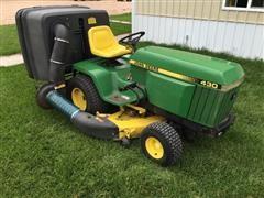 1984 John Deere 430 Lawn Mower