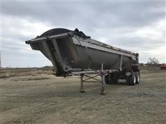1999 Beall T/A End Dump Trailer