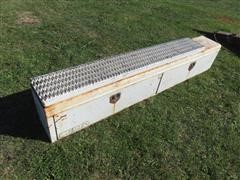 Delta 8' Toolbox For Flatbed Truck