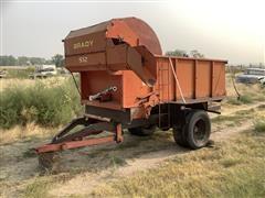 Brady 512 Pull Type Feed Wagon