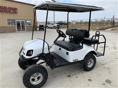 2018 E-Z-GO White Express S4 High-Output Off-Highway Gas Vehicle