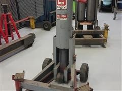 Gray 3 Ton Pneumatic End Lift Service Jack
