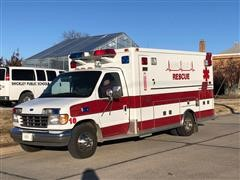 1995 Ford Med Tech E350 Diesel Ambulance