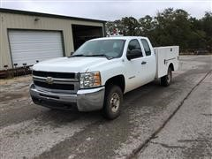 2010 Chevrolet 2500 HD 4x4 Extended Cab Service Pickup