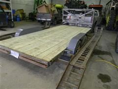 1997 Temco Highboy Flatbed Trailer
