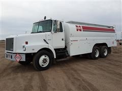 1992 White GMC Fuel Truck