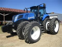 2015 New Holland T8.410 MFWD Tractor