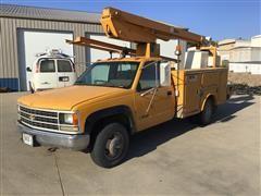 1991 Chevrolet 3500 Bucket Truck