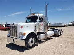 1998 Peterbilt 379 T/A Day Cab Truck Tractor