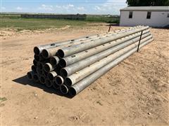 """8"""" Aluminum Gated Pipe"""