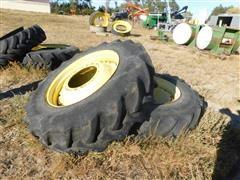 Goodyear 420/85R34 Tires On John Deere Rims