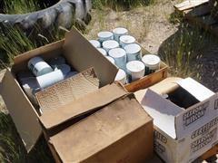 Texaco SAE 20 20W HD Oil Cans