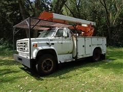 1986 GMC C6000 40' Reach Bucket Truck