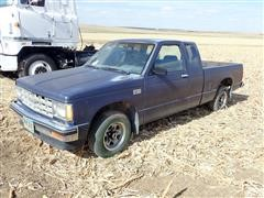1987 Chevrolet S10 Extended Cab 2WD Pickup