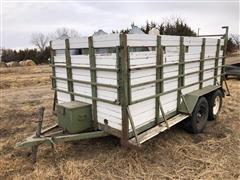 Shop Built LivestockTrailer