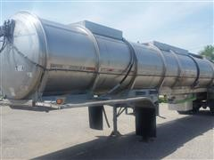 1980 Butler T/A Stainless Steel Tank Trailer