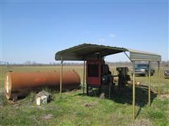 Case IH P110 Power Unit w/ Generator, Fuel Tank & Canopy