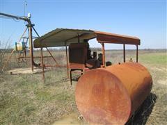 Case IH 4391TA Power Unit w/ Generator, Fuel Tank & Canopy