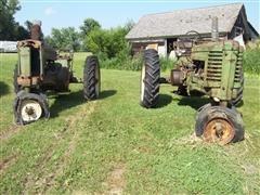 John Deere Model A Antique Tractors