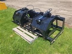 """2018 Brute 80"""" Root Grapple Skid Steer Attachment"""