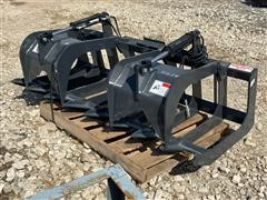 2019 Stout HD72-8 Brush Grapple Bucket Skid Steer Attachment