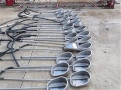 Hog Slat Watering Cups For Finishing Barn