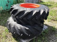 CLAAS Jaguar 16.5/85R24 Tires On Rims