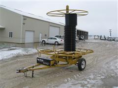 2012 Agri Drain Maxi Stringer Series J Tile Cart