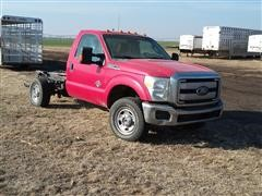 2011 Ford F-350 Super Duty 4x4 Cab & Chassis