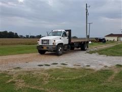 1997 GMC C6500 S/A Flatbed Truck
