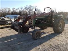Oliver 1850 2WD Tractor W/F11 Loader